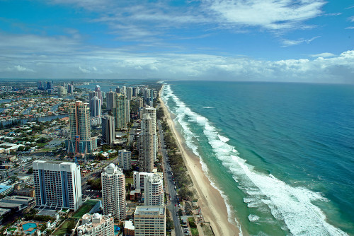 Gold Coast Arial View